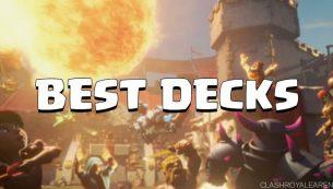 بهترین دک کلش رویال برای آرنای ۲ (Clash Royale Deck)