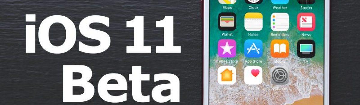 آموزش جامع نصب iOS 11 Beta آیفون و آیپد (نسخه بتای iOS 11)