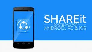 معرفی و دانلود برنامه شریت (SHAREit): انتقال سریع فایل ها