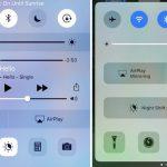 آموزش کار با Control Center جدید آیفون در iOS 10