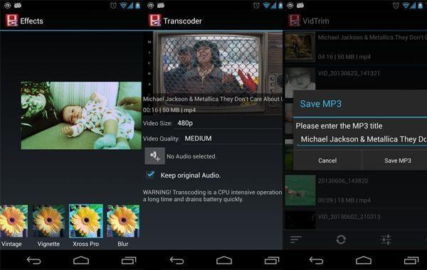 معرفی 5 نرم افزار چسباندن فیلم به هم برای اندروید