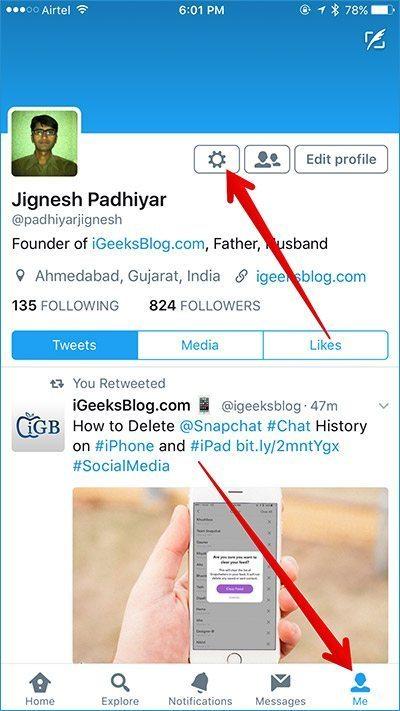 آموزش تصویری فعال سازی تایید دو مرحله ای توییتر (Twitter)