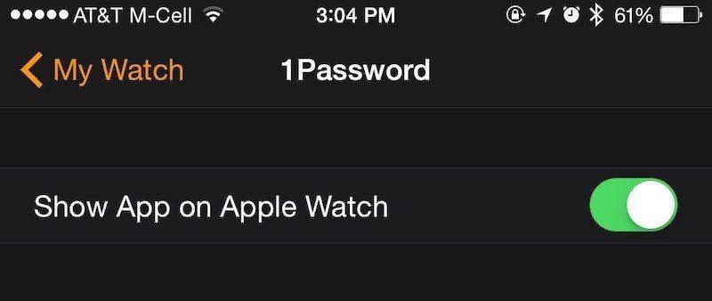 نصب برنامه در اپل واچ