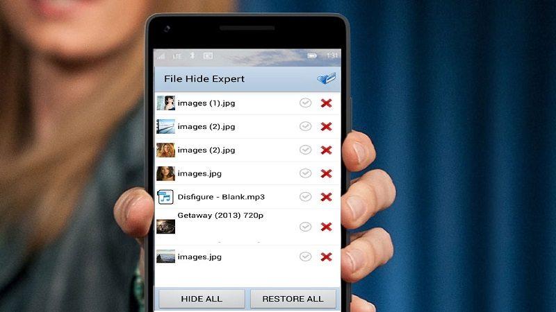 آموزش مخفی کردن عکس و فیلم و فایل و برنامه در اندروید