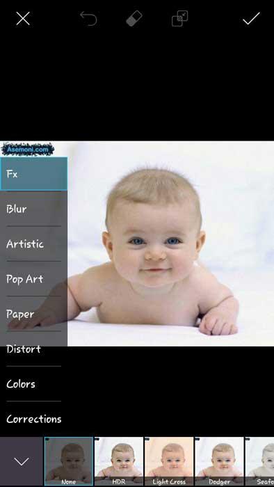 برنامه PicsArt (پیکس آرت)