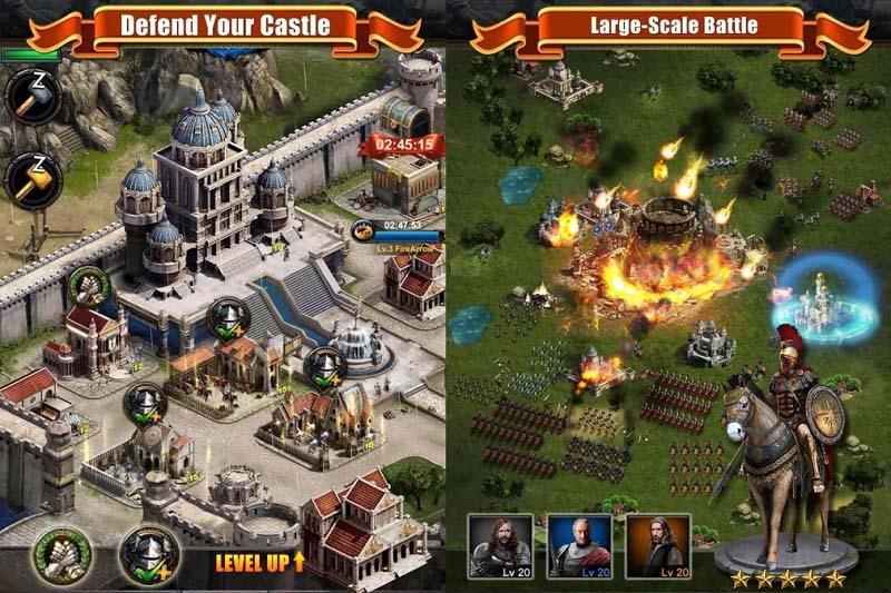 معرفی بازی Clash Of Kings (نبرد پادشاهان)