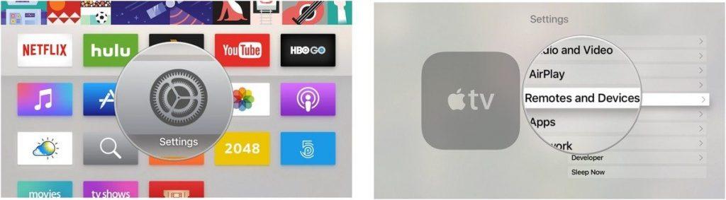 آموزش اتصال آیفون به اپل تی وی و استفاده به عنوان کنترل تلویزیون