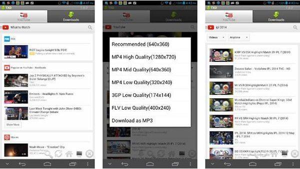 معرفی 10 برنامه دانلود از یوتیوب برتر برای موبایل