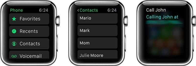 آموزش برقراری تماس با اپل واچ