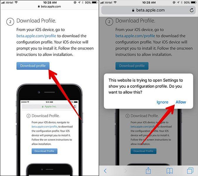 آموزش جامع نصب iOS 11 Beta روی آیفون و آیپد (نسخه بتای iOS 11)