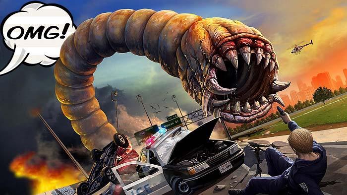 معرفی و دانلود بازی Death Worm ؛ کرم یا هیولای قاتل