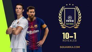 معرفی ۱۰ بهترین بازیکن فیفا ۱۸ (FIFA 18)؛ تاپ ۱۰