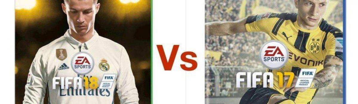 مقایسه FIFA 18 با FIFA 17: تغییرات فیفا ۱۸ را بشناسید!