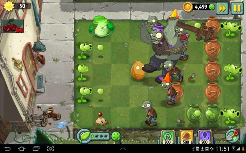 بازی Plants Vs. Zombies 2