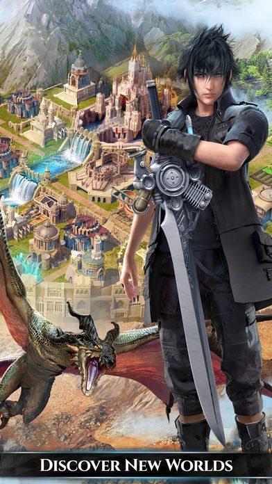 معرفی و دانلود بازی Final Fantasy XV A New Empire