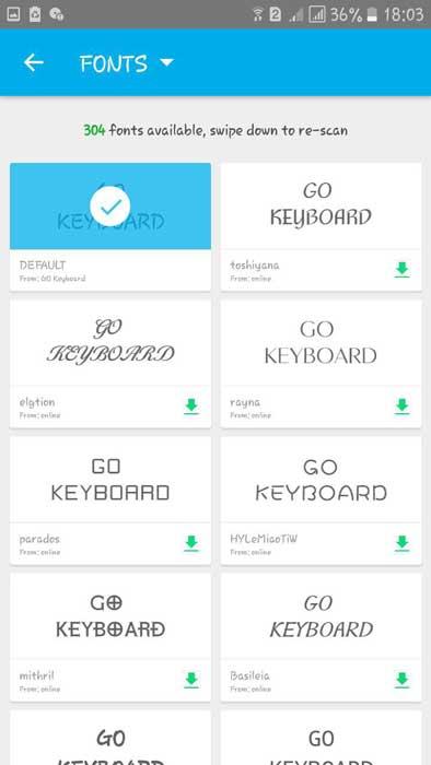 کیبورد Go Keyboard