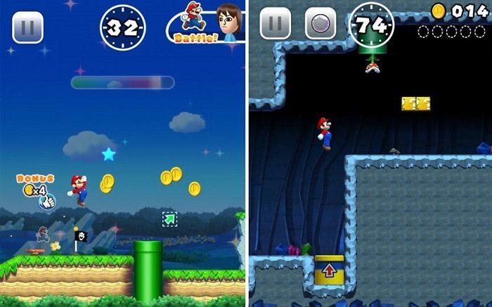 بررسی و دانلود بازی قارچ خور یا سوپر ماریو ران (Super Mario Run)