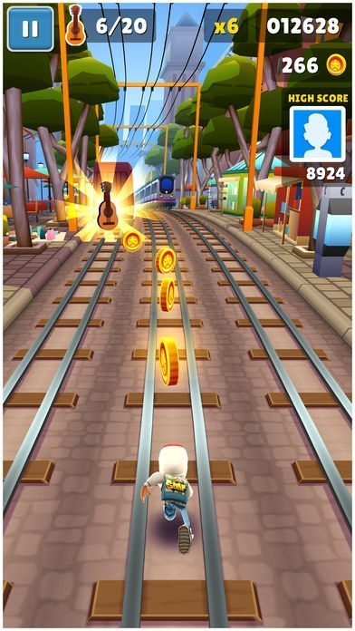 معرفی و دانلود بازی Subway Suffers ؛ دویدن روی ریل مترو