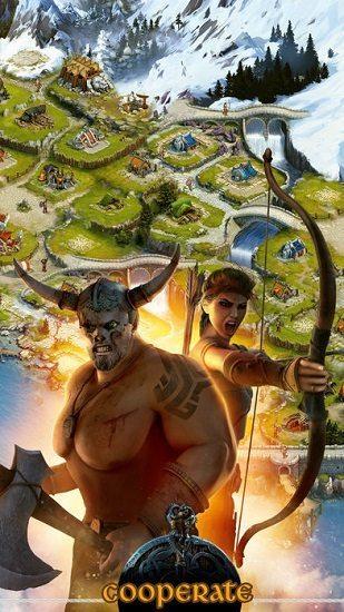 معرفی و دانلود بازی Vikings War of Clans : جنگ وایکینگ ها