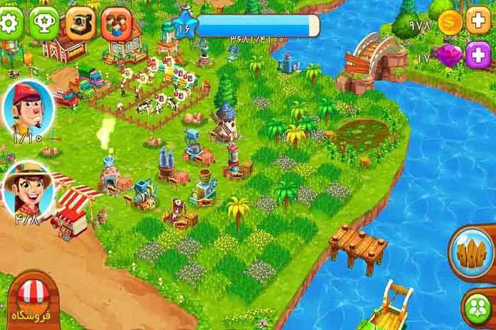 معرفی و دانلود بازی مزرعه نمونه (Top Farm)؛ مزرعهداری مجازی