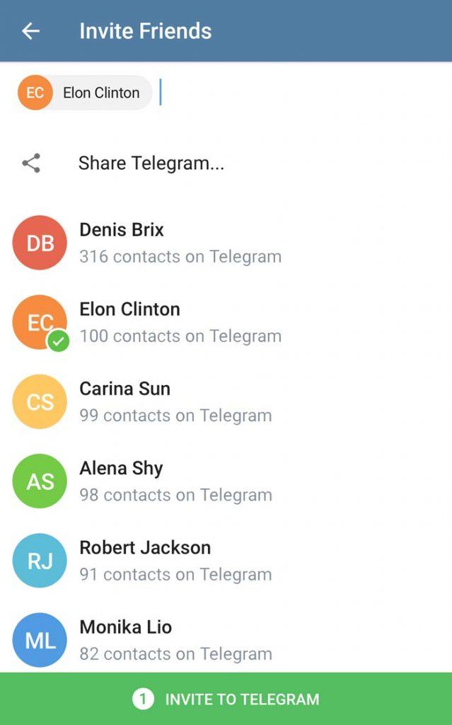 آپدیت تلگرام 4.3