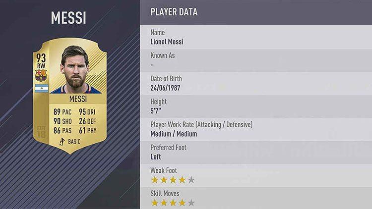 معرفی 10 بهترین بازیکن فیفا 18 (FIFA 18)