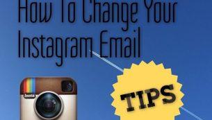 آموزش تصویری تغییر ایمیل و شماره اینستاگرام