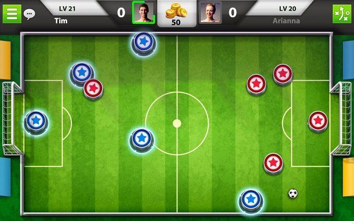 معرفی و دانلود بازی Soccer Stars ؛ فوتبال رومیزی آنلاین