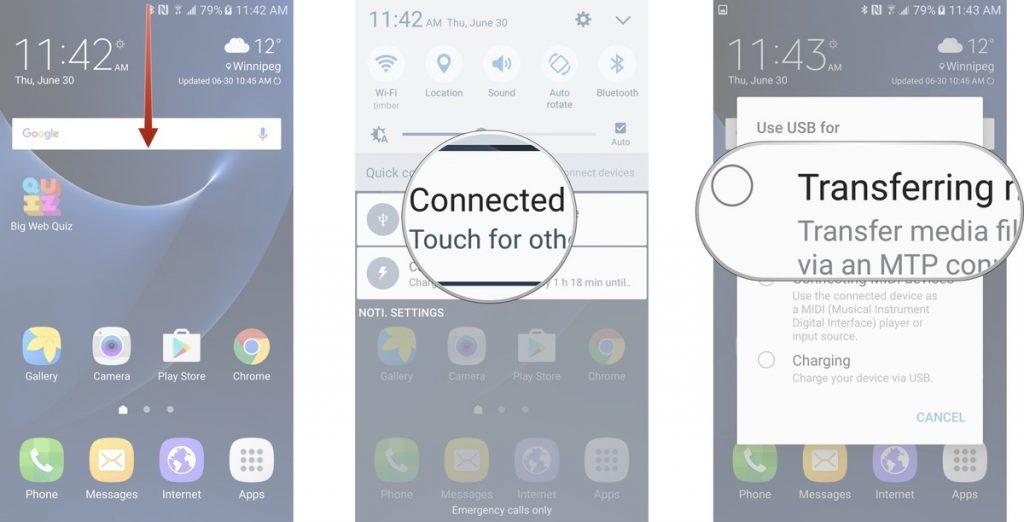 بکاپ گرفتن از گوشی سامسونگ با برنامه Smart Switch (نسخه کامپیوتر)