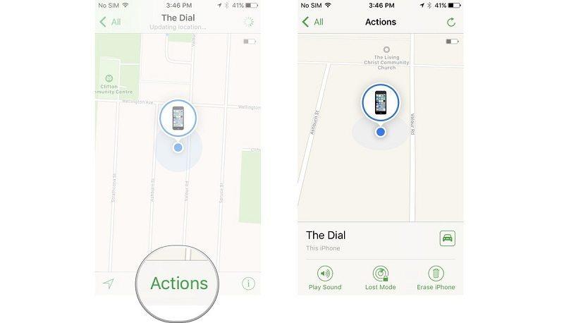 آموزش فعال کردن و استفاده از Find My iPhone آیفون و آیپد