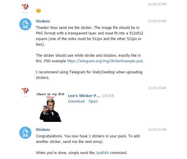 آموزش تصویری ساخت استیکر تلگرام با فتوشاپ