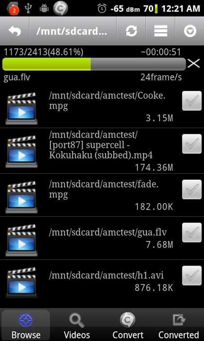 برنامه Video Converter Android