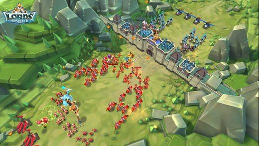 معرفی و دانلود بازی Lords Mobile : نبرد لردها