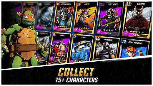معرفی و دانلود بازی Ninja Turtles Legends : لاک پشت نینجا