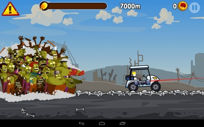 معرفی و دانلود بازی Zombie Road Trip : فرار از دست زامبی ها