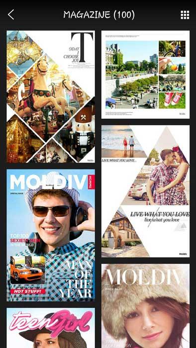 برنامه Moldiv