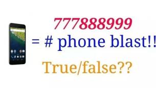 تماس از شماره ۷۷۷۸۸۸۹۹۹ و انفجار گوشی، حقیقت چیست؟