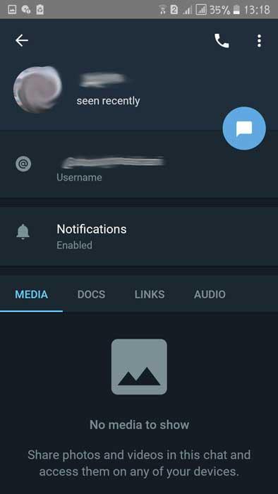 برنامه تلگرام ایکس (Telegram X)