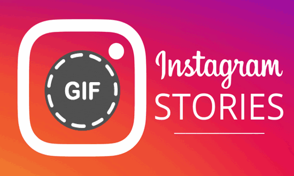 Add GIF to Instagram Stories