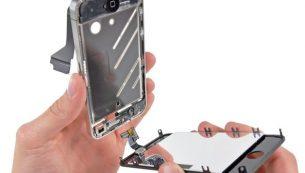 تعمیرات آیفون: تعویض ال سی دی آیفون ۴ اپل