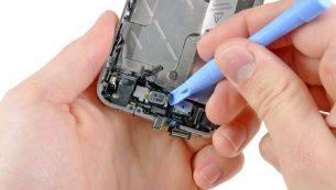 تعمیرات آیفون: تعویض اسپیکر مکالمه آیفون ۴ اپل