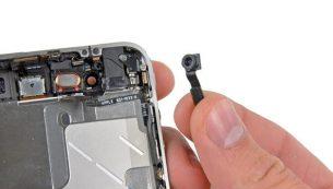 تعمیرات آیفون: تعویض دوربین سلفی آیفون ۴ اپل