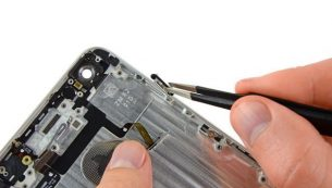 آموزش تعویض کابل دکمه پاور آیفون ۶ پلاس اپل