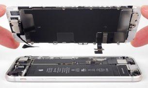 تعمیرات آیفون: تعویض تاچ و ال سی دی آیفون ۸ اپل