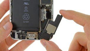 آموزش تعویض اسپیکر آیفون ۶ پلاس اپل