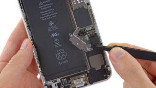 آموزش تعویض موتور ویبره آیفون ۶ پلاس اپل