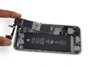آموزش تعویض برد آیفون ۶ اس اپل