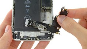 آموزش تعویض سوکت شارژ آیفون ۶ پلاس اپل + ویدئو