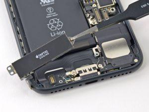 آموزش تعویض موتور ویبره آیفون ۷ اپل + ویدیو