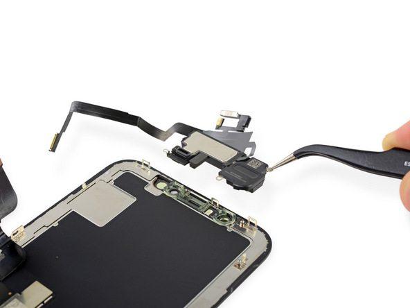 آموزش تعویض سنسورهای جلوی آیفون X اپل